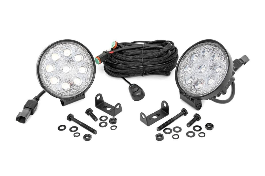 Rough Country LED Round Lights 4in (Part Number:70804)