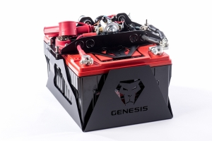 Genesis Offroad Universal Dual Battery Kit w/200 Amp Isolator