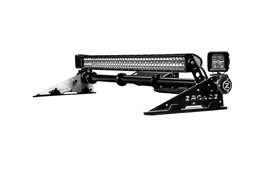 T-REX ZROADZ MegaWatt Package Hard Top Model Modular Roof LED Light Bar Mount Combo A (Part Number:Z350050-JK-KIT-A)