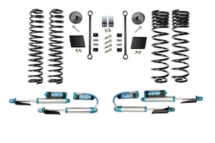 Evo Manufacturing 2.5in Enforcer Stage 1 Lift Kit w/ Comp Adjuster Shocks - JT