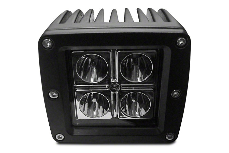 DV8 Offroad 3 in Chrome Series LED Cube Light - Spot/Flood Beam (Part Number:B3CE20W5W)