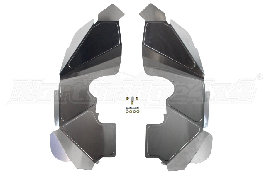Poison Spyder Front Inner Fenders Raw (Part Number:17-02-080)