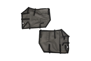 Rugged Ridge Fortis Front Tube Door Covers, Pair - Black  - JL/JT