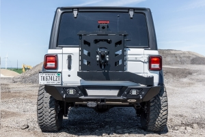 LOD Destroyer Shorty Rear Bumper with Tire Carrier Package - JL