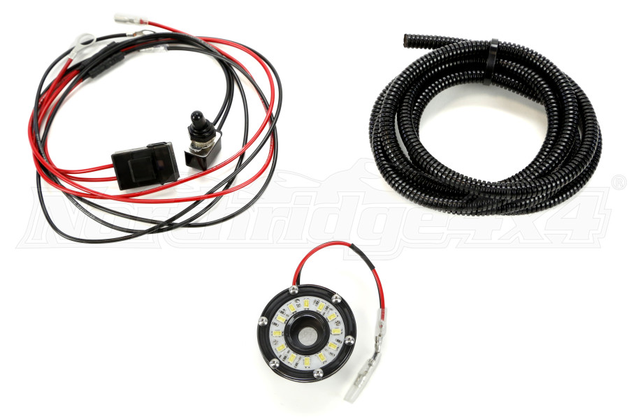 KC HiLites Under Hood Cyclone 2IN LED Light Kit on