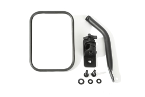 Rugged Ridge Quick Release Mirror Black  (Part Number: )