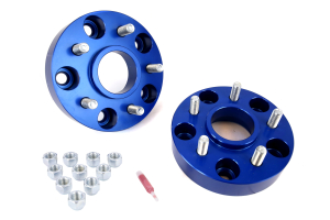 Spidertrax Wheel Adapter Kit 5x5in to 5x4.5in Blue ( Part Number: WHS011)