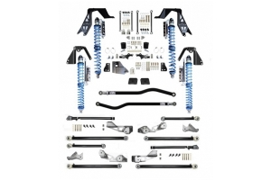 Evo Manufacturing NV2514 High Clearance Pro PLUS Long Arm Lift Kit w/ Comp Adjusters - BLACK - JL Diesel