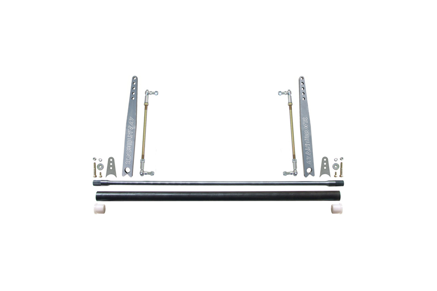 Currie Enterprises Universal AntiRock Sway Bar Kit w/20in Bent Aluminum Arms (Part Number:CE-9902A-20B)