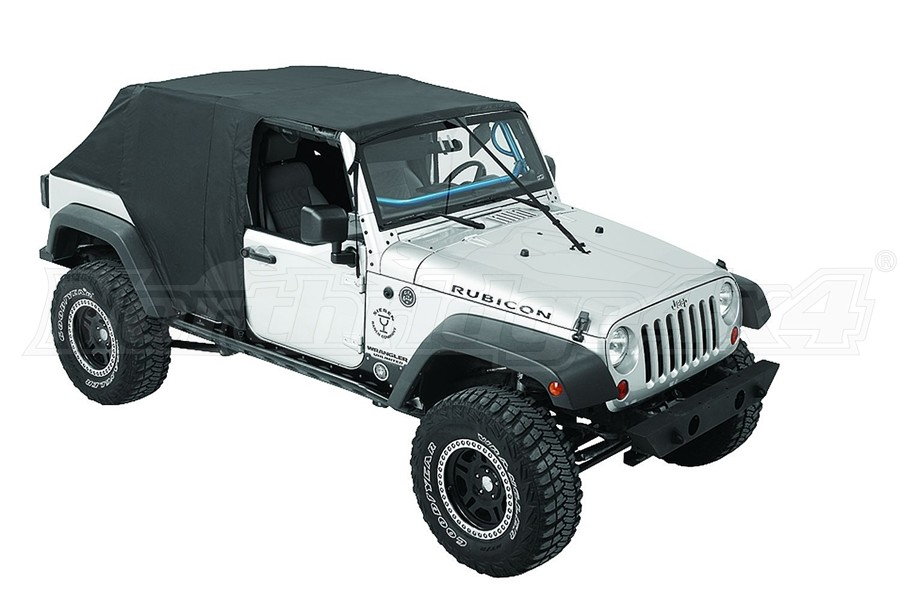 Bestop Emergency Soft Top, Black  - JK 4Dr