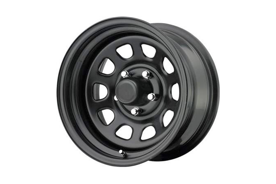 Pro Comp Rock Crawler Extreme Series 51 Wheel Flat Black 15x10 5x4.5 (Part Number:51-5165F)