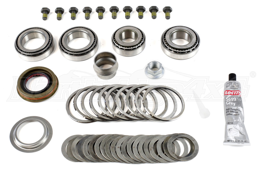 Dana Super 44 w/E-Locker Master Overhaul Rebuild Kit Front - JK Rubicon