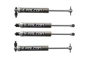 Teraflex Falcon Series 2.1 Monotube Shock Front & Rear Kit 1.5-2.5in Lift - JK 4DR