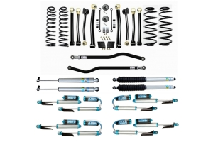 Evo Manufacturing HD 2.5in Enforcer Stage 4 PLUS Lift Kit w/ Shock Options - JL