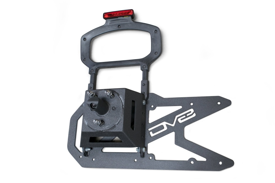 DV8 Offroad Tailgate Mounted Tire Carrier (Part Number:TCJL-01)