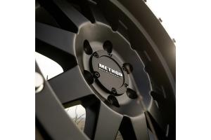 Method Race Wheels Flush Center Cap, Black - 5x5 / 6x135
