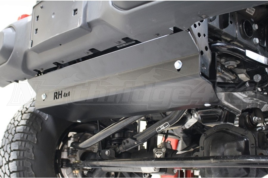 Rock Hard 4x4 Front Bumper Skid Plate for OE Plastic Bumpers - JT/JL