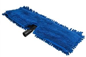 Chemical Guys Chenille Wash Mop w/ Plastic Head Attachment - Blue
