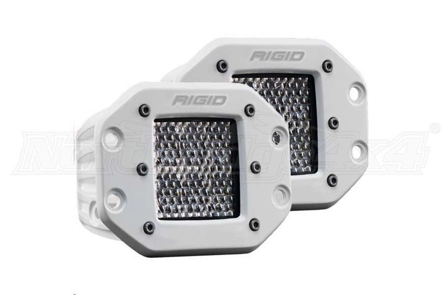 Rigid Industries D-Series Pro Specter Diffused Flush Mount Pair (Part Number:712513)