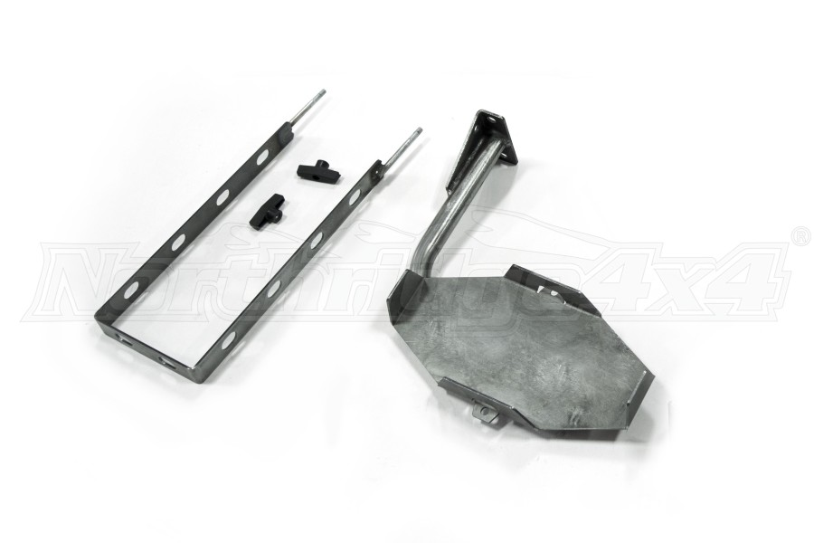 LOD Destroyer 5 Gallon Jerry Can Mount / Passenger Side Bare Steel (Part Number:JJC0700)