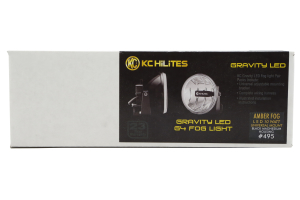 KC Hilites Gravity LED Fog Lights Pair, Amber (Part Number: )