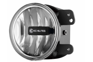 KC HiLites 4in Gravity LED Fog Light Single Clear (Part Number: )