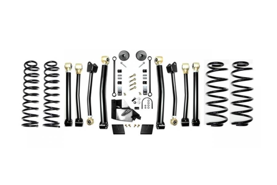 EVO Manufacturing 3.5in Enforcer Lift Kit Stage 4 - JL