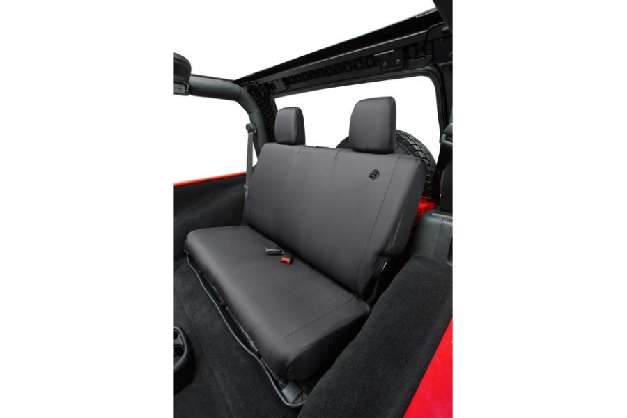 Bestop Rear Seat Cover Black  - JK 4dr 2008-12