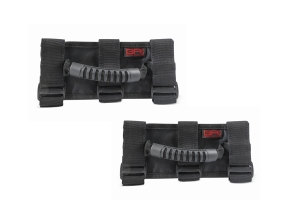 Body Armor Front Roll Bar Grab Handles - Pair - JK