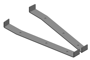 Clayton Frame Bracket Location Templates (Part Number: )