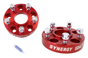Synergy Manufacturing Hub Centric Wheel Spacer Kit 5x4.5 1.25in ( Part Number: 4111-5-45-H)