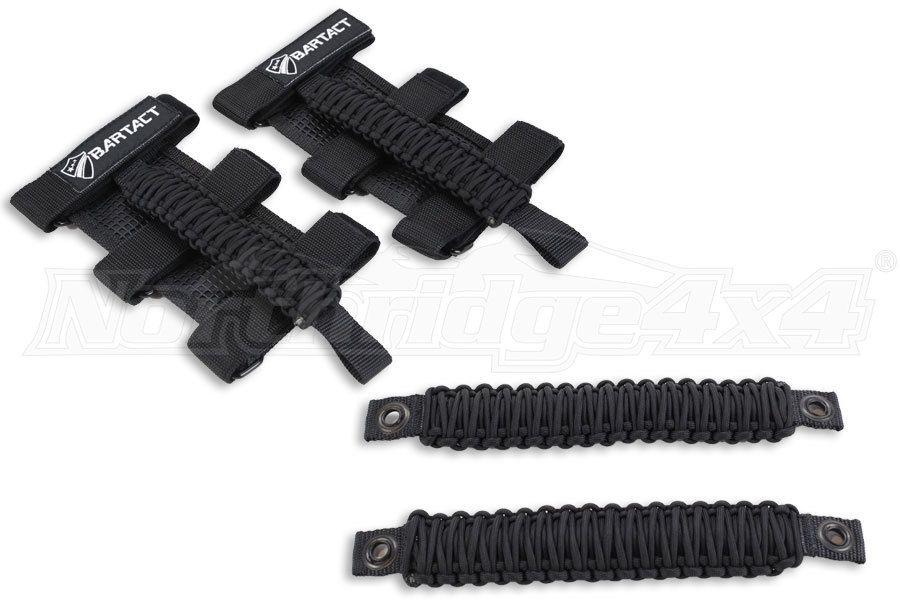 BARTACT FRONT & REAR GRAB HANDLE PACKAGE - JK