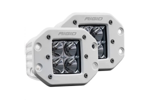Rigid Industries D-Series Pro Hybrid Flood Flush Mount Pair