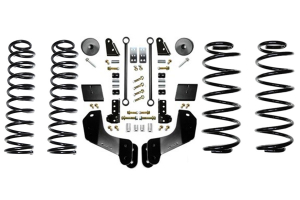 EVO Manufacturing 2.5in Enforcer Overland Lift Kit w/Shock Extensions Stage 1 - JL