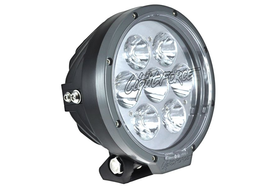 Lightforce 7in Round 70w LED Light Spt Light Bar