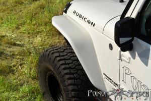 Poison Spyder Front Crusher Flares Standard Width Steel - JK
