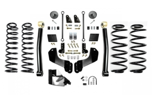 EVO Manufacturing 3.5in Enforcer Overland Lift Kit w/Shock Extensions Stage 2 (Part Number: )