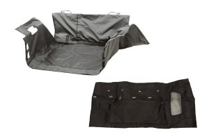 Rugged Ridge C3 Cargo Cover w/C3 Tailgate Cover Package  - JK 4Dr - No Subwoofer
