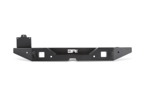 Body Armor Full-Width Rear Bumper w/ Tire Carrier Mount - JL