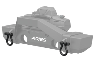 Aries Automotive Shackles - JK