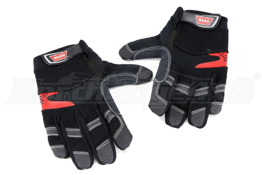 Warn Winching Gloves Large