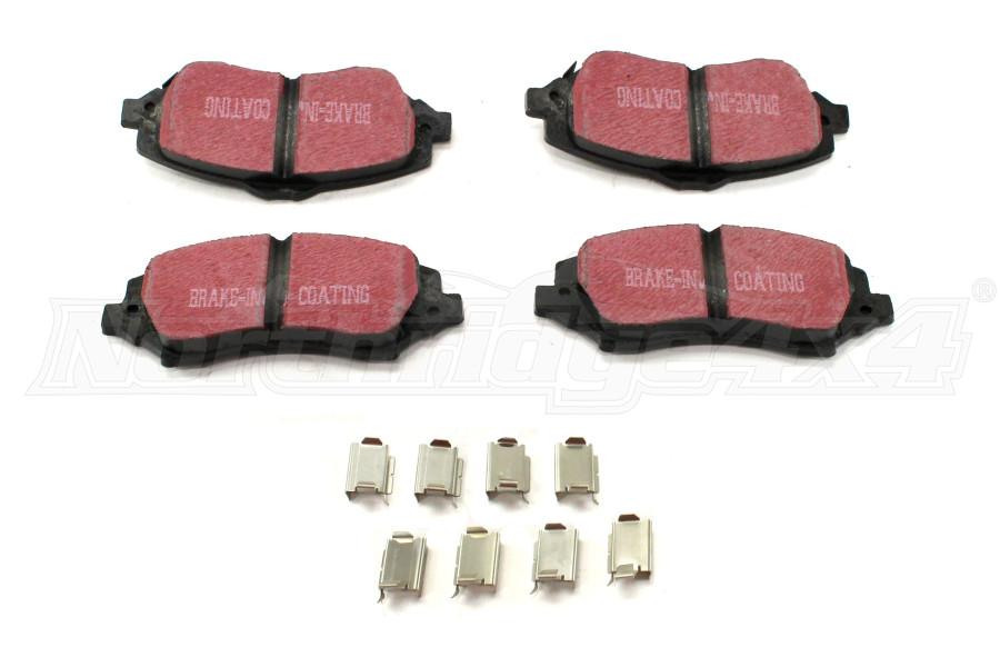 Dynatrac ProGrip Replacement Front Brake Pad Set (Part Number:JK44-1127-A)
