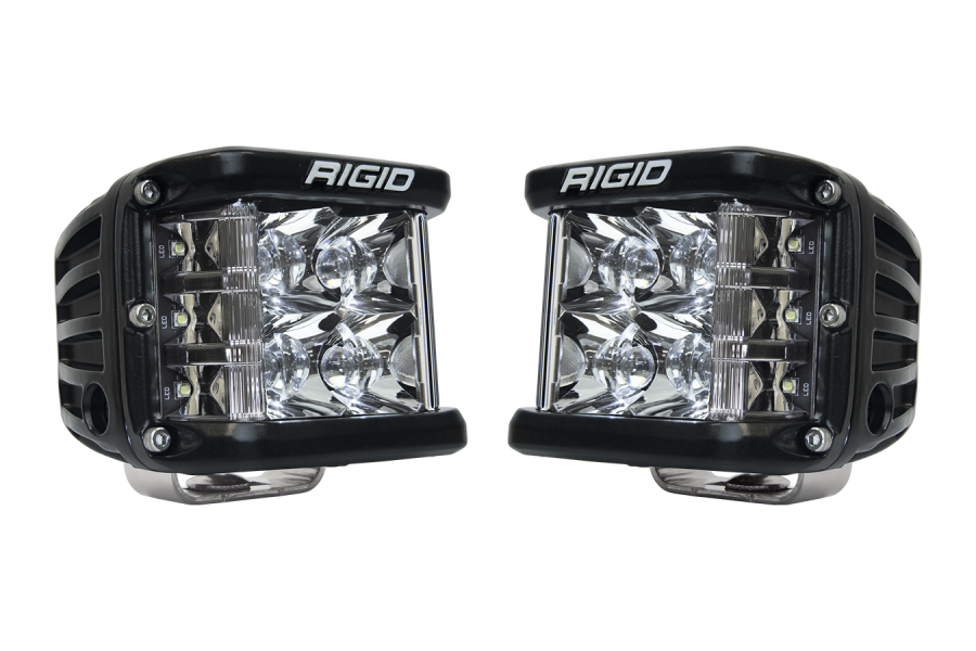 Rigid Industries D-SS PRO Side Shooter LED Cube, Spot Pair (Part Number:262213)