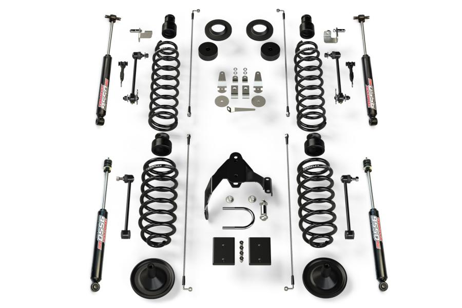 Teraflex 4in Base Lift Kit with 9550 Shocks (Part Number:1251421)
