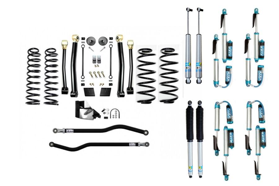 Evo Manufacturing 4.5in Enforcer Stage 3 PLUS Lift Kit w/ Shock Options - JL Diesel