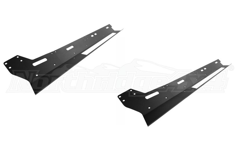 Rock-Slide Engineering Step-Slider Skid Plates, Black - JT