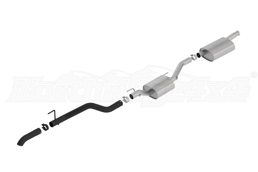 Borla Performance 2.75in Touring Climber Cat-Back Exhaust System - Black   - JT 3.6L