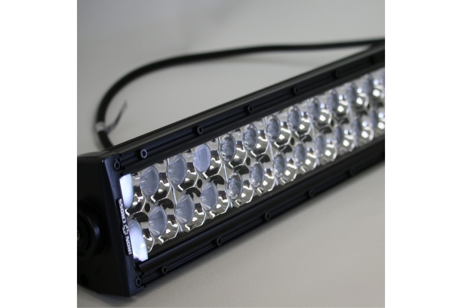 Iron Cross 12in Dual Row LED Light Bar  - JL