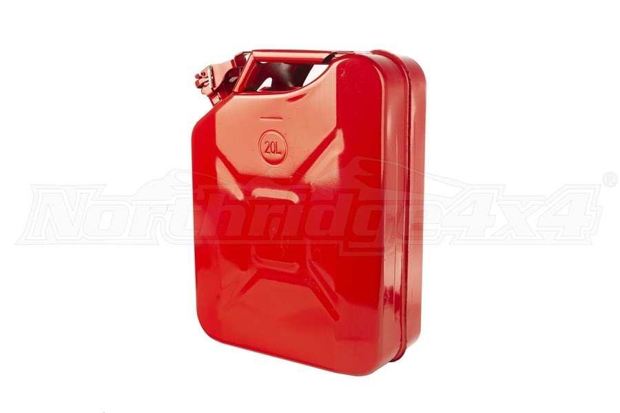 Rugged Ridge Metal Jerry Can, Red  (Part Number:17722.31)