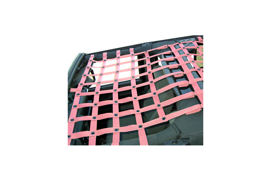 Dirty Dog 4x4 Front Netting Pink (Part Number:J4NN07F1PK)